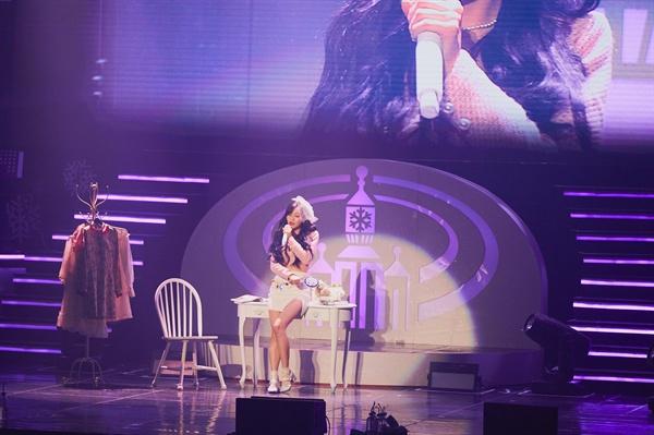 러블리즈 러블리즈가 지난 15일 단독콘서트 <겨울나라의 러블리즈3>을 개최하고 팬들과 함께 했다.