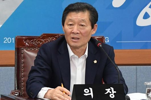 최선근 강릉시의회 의장