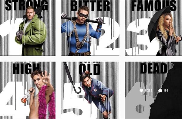 넷플릭스가 지난 10월 공개한 또다른 캐릭터 포스터에도 넘버6번 '벤'은 슈퍼 데드라는 설명과 함께 캐릭터 모습은 그림자 처리만 해놓았다.