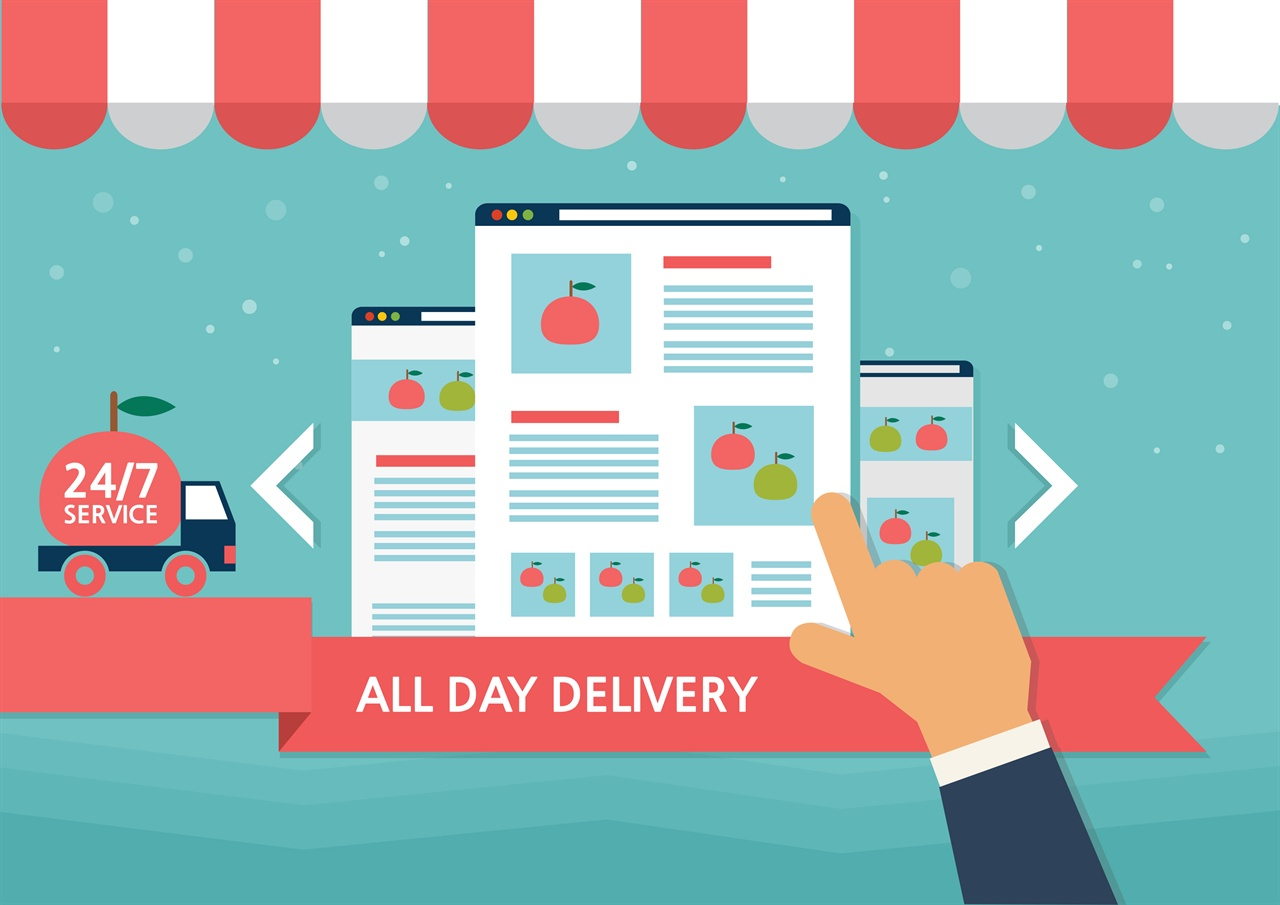 국내 소비자 4명 중 1명은 온라인 통해 식품 구매한다.