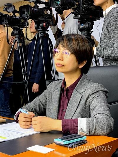 2월 20일 출범한 인권위 혐오차별 대응 특별추진위원회 민간 위원으로 위촉된 조혜인 차별금지법제정연대 공동집행위원장.