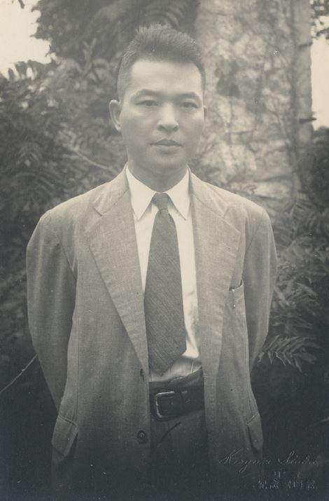 1946년 개성에서 촬영된 약산 김원봉의 사진