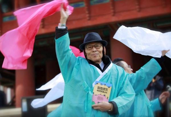 대한민국 임시정부 마지막 청사가 있던 중국 충칭에서 태어난 차영조 선생님.