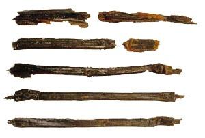 창원 다호리 유적에서 발견된 '붓' 한반도에서 철기시대부터 문자를 사용하고 있었음을 알려주는 유적
