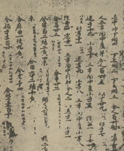 신라민정문서 일본 정창원에서 일본 고문서를 감싸는 '책싸개'로 발견된 통일신라 서원경의 행정문서
