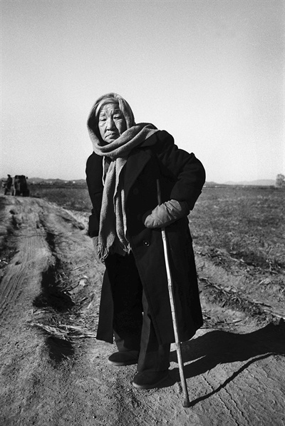 1994년 흑룡강성 상지시에서 만난 김규식 장군의 딸 김현태 할머니.