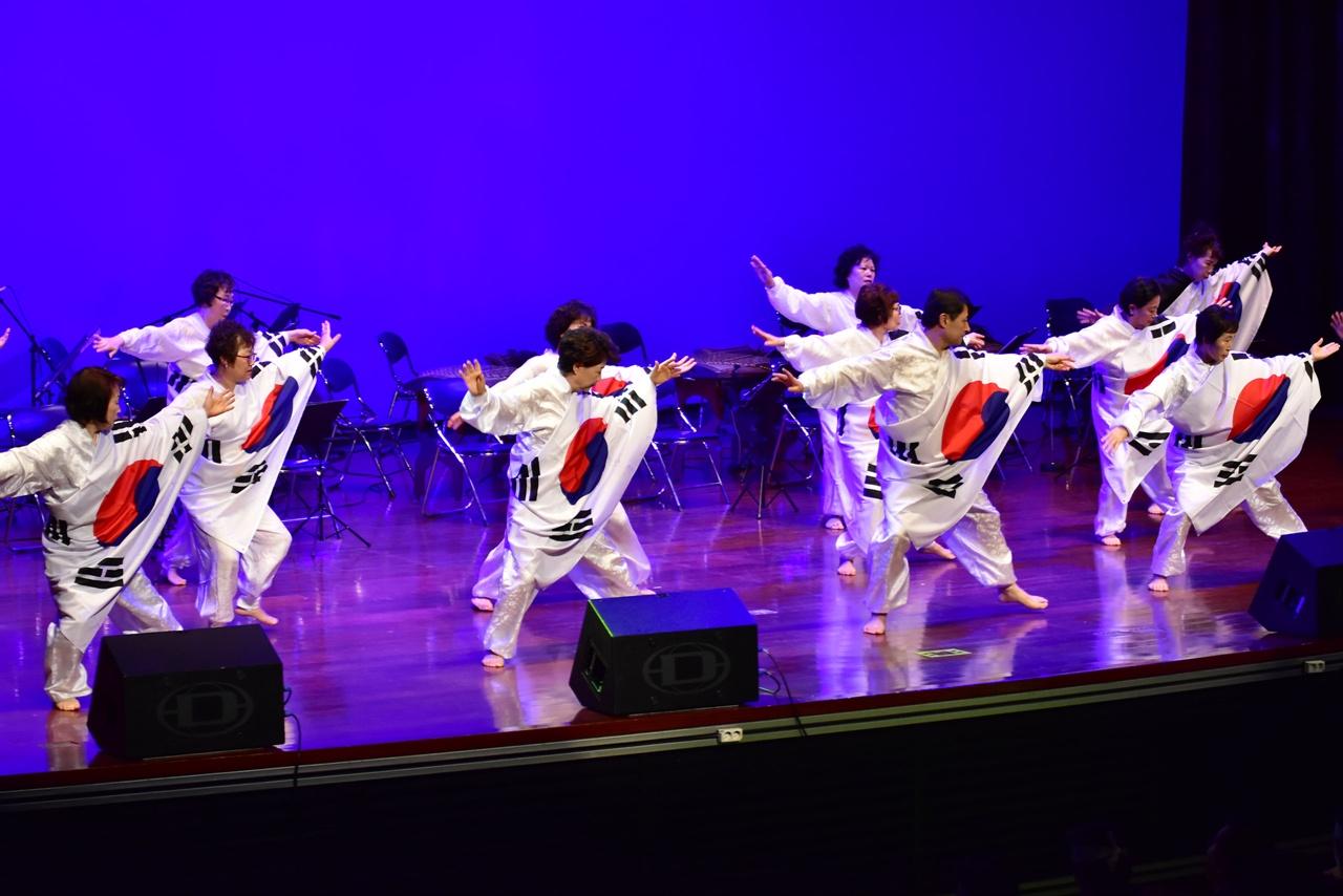 성남 3.1절 만세운동 기념식 공연 모습