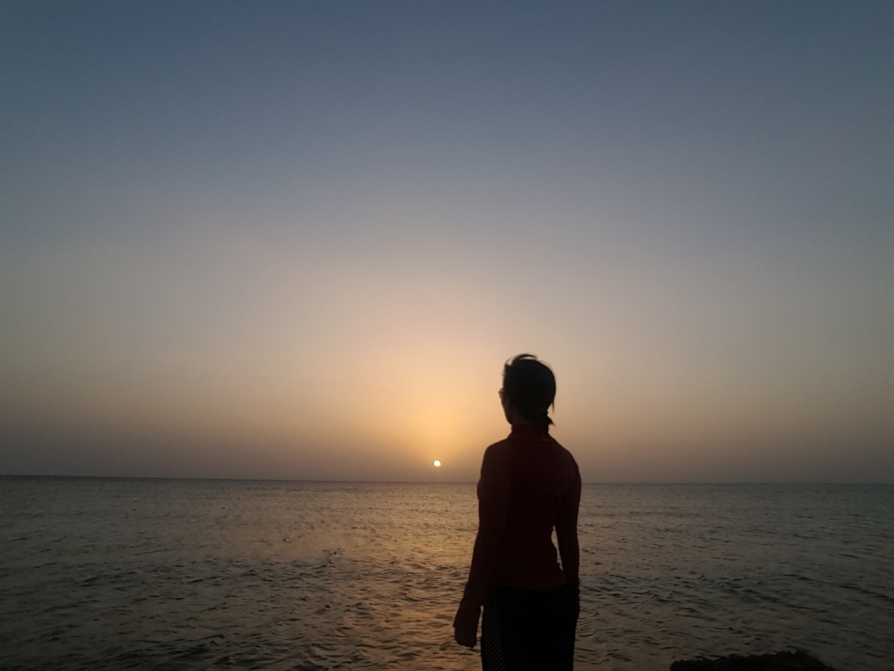 이집트 다합은 해안가가 아름답다. 아침마다 6km를 달리면서 일출을 보는 것이 큰 낙이었다.