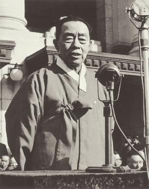 1946년 미군정 시기의 김규식 박사.