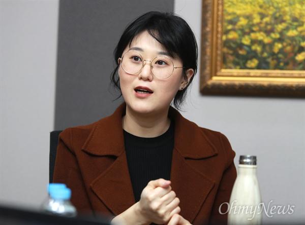 민달팽이유니온 최지희 대표.