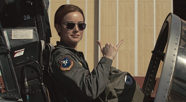 영화 <캡틴 마블>의 한 장면