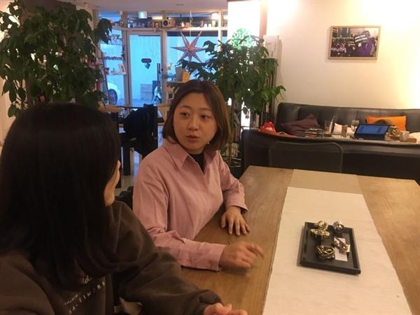 '대학에서 싸우는 여자들' 프로젝트 팀 인터뷰. 이재정 여성단체연합 간사