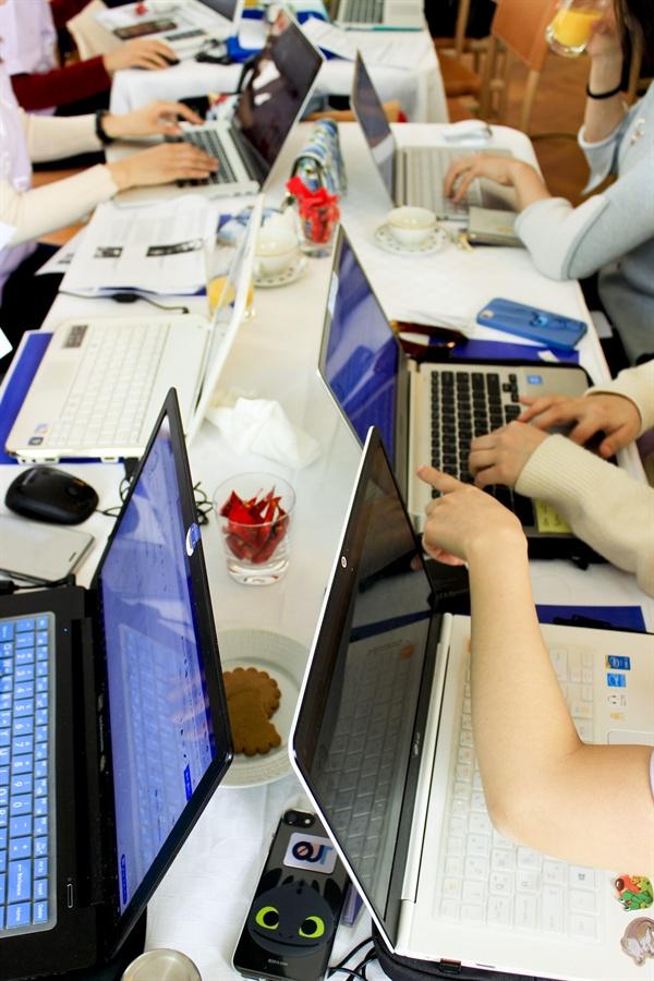 참가자들은 에디터톤을 통해 한국과 스웨덴의 여성 인물 문서 등 여러 문서를 편집하였다.