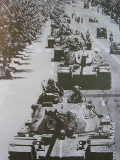 5·18 당시의 계엄군. 국립 5·18 묘지에서 찍은 사진.