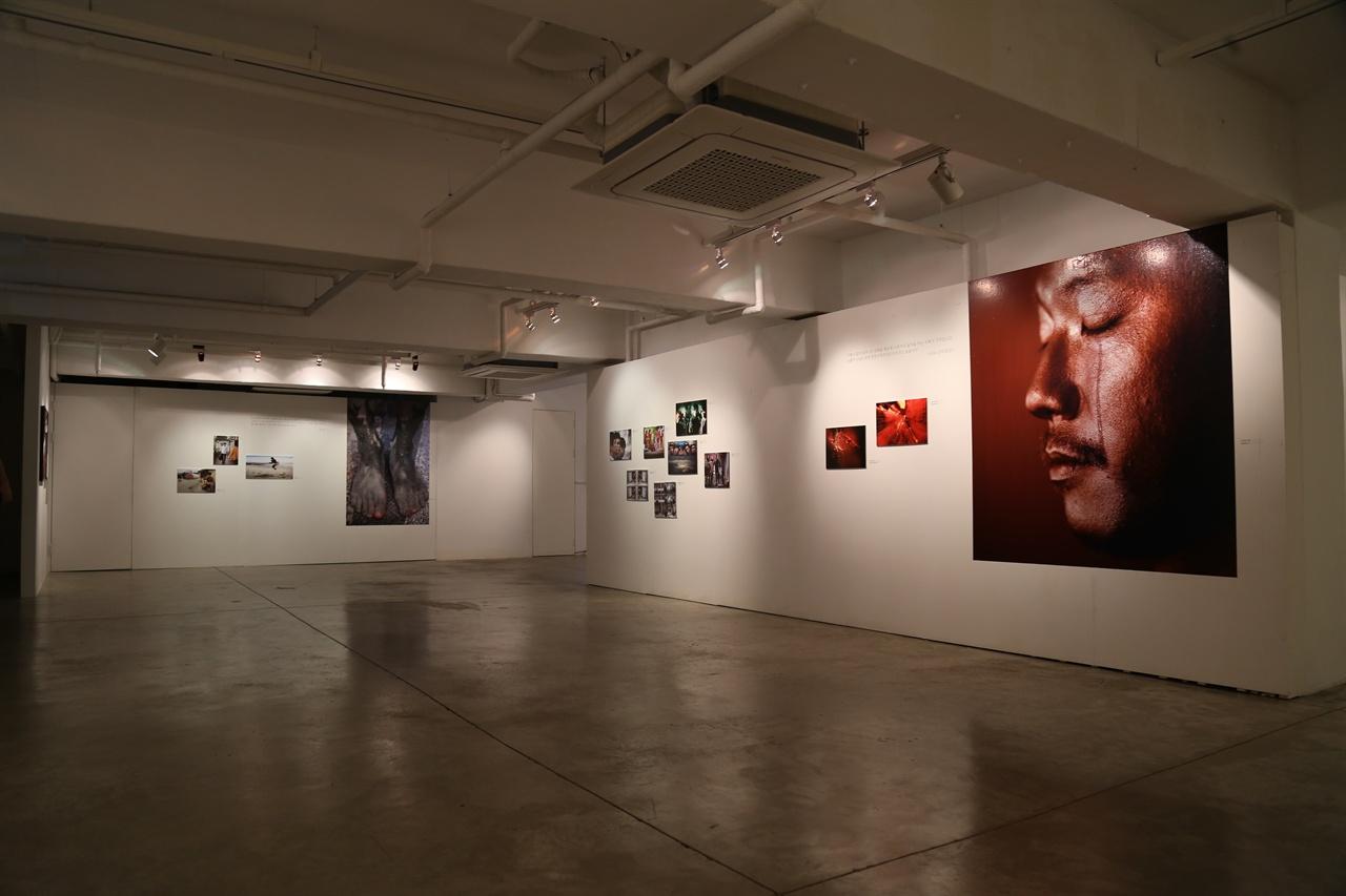 복합문화공간 에무의 갤러리 내부