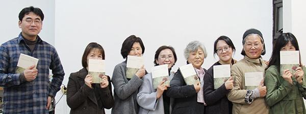 마르코의 책방 동아리 회원들.