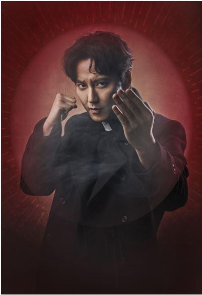 <열혈 사제> 김해일(김남길)