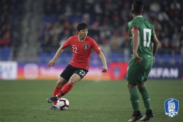 권창훈 벤투호에서 처음 대표팀에 승선한 권창훈이 2선에서 뛰어난 경기력을 선보였다.