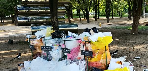 서울숲은 서울의 대표적 생태공원이지만, 이용객들은 단순한 '유원지'로 생각한다. 서울숲 일회용품 쓰레기 문제 해소 문제는 도시서울이 이 문제를 해결할 수 있을지 없을지를 가르는 리트머스 시험지가 될 것이다.