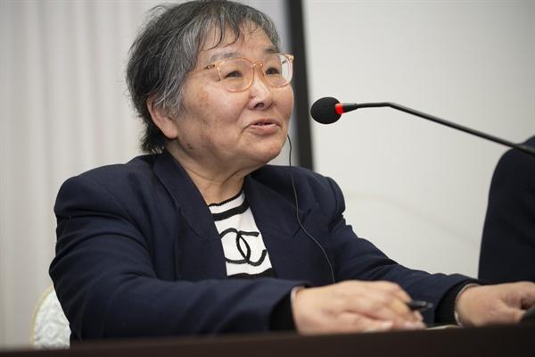일본 환경운동가 츠르쇼코 씨.