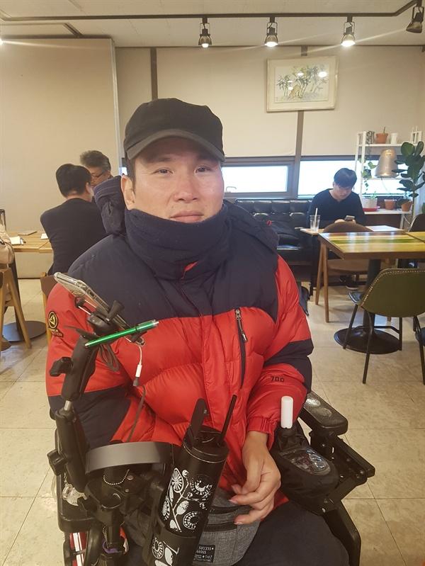 추경진씨 그는 탈시설 이후 자유를 얻었다고 말한다.