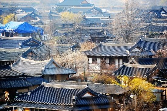 개평마을 고래등 같은 전통 고택들이 잘 보존되었다.