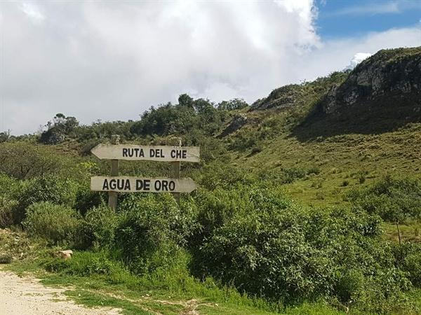 라 게이라로 향하는 길목(체게바라 전투지)