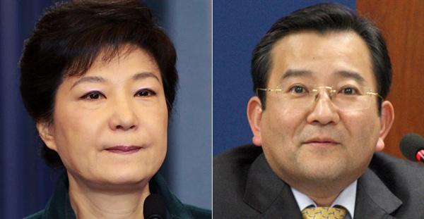 박근혜 전 대통령(사진 왼쪽)과 김학의 전 법무부차관.