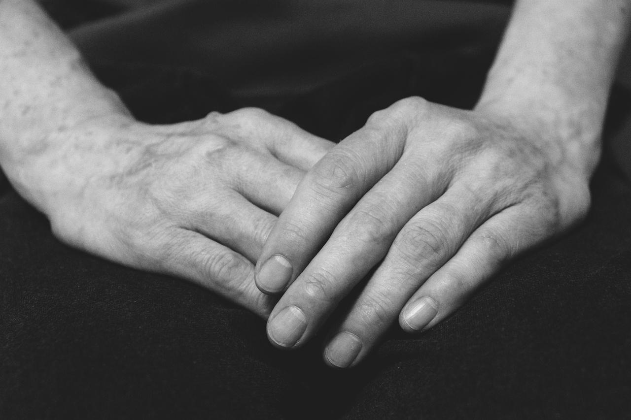 엄마의 손