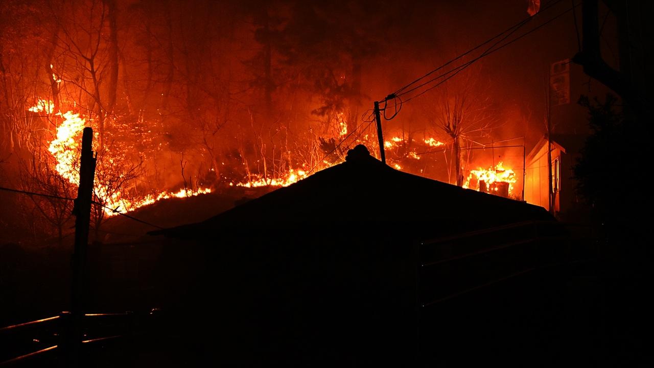 속초 동명동 화재현장 고성에서 4일 오후 7시 17분 발생한 산불이 속초 시 동명동까지 번졌다.