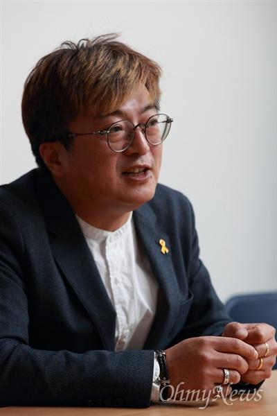 장훈 4.16연대 공동대표/4.16세월호참사 가족협의회 운영위원장.