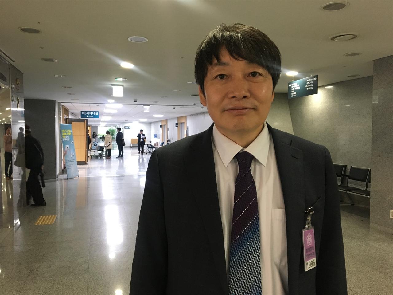 한국해양과학기술원의 허식 박사