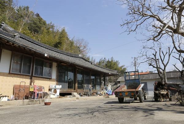 보성군 득량면 박곡마을 양산원의 집 자리. 정유재란 때 조선수군을 재건하면서 명량으로 가던 이순신 장군이 많은 군량미를 확보했던 곳이다.