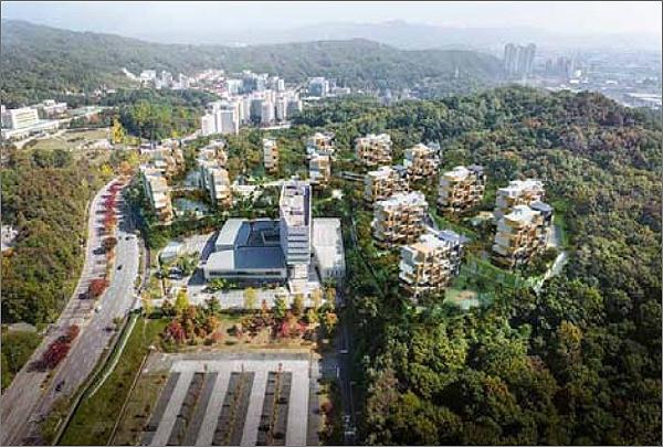 대전 매봉공원 민간공원 특례사업 예시도. 이 사업은 12일 열린 도시계획위원회에서 '부결'됐다.