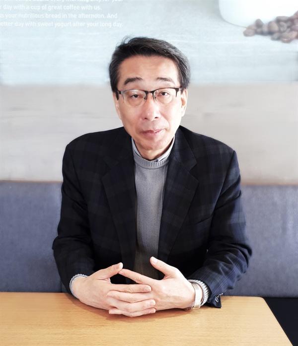 이정우 충남문인협회장 지난 2월 충남문인협회장에 취임한 이정우 회장