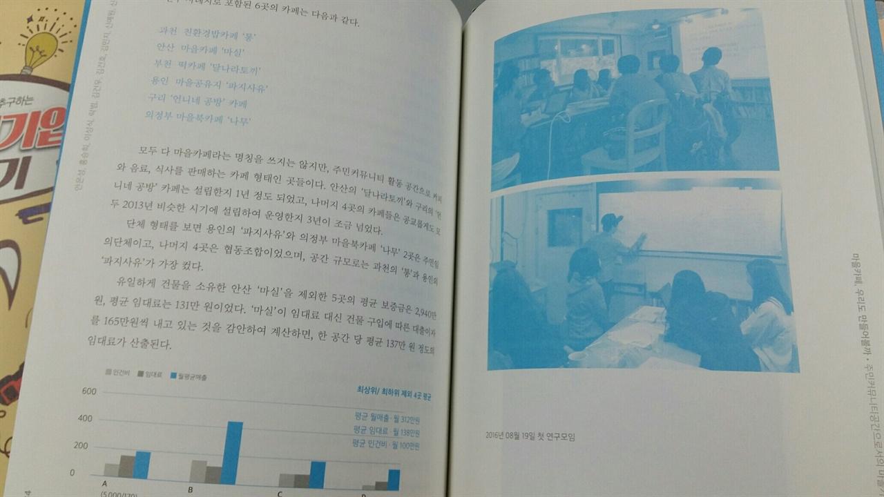 경기도의 지원을 받아 진행한 '주민커뮤니티공간으로서의 마을카페 사례 연구'_ 누군가를 위한, 우리를 위한 작은 연구 보고서