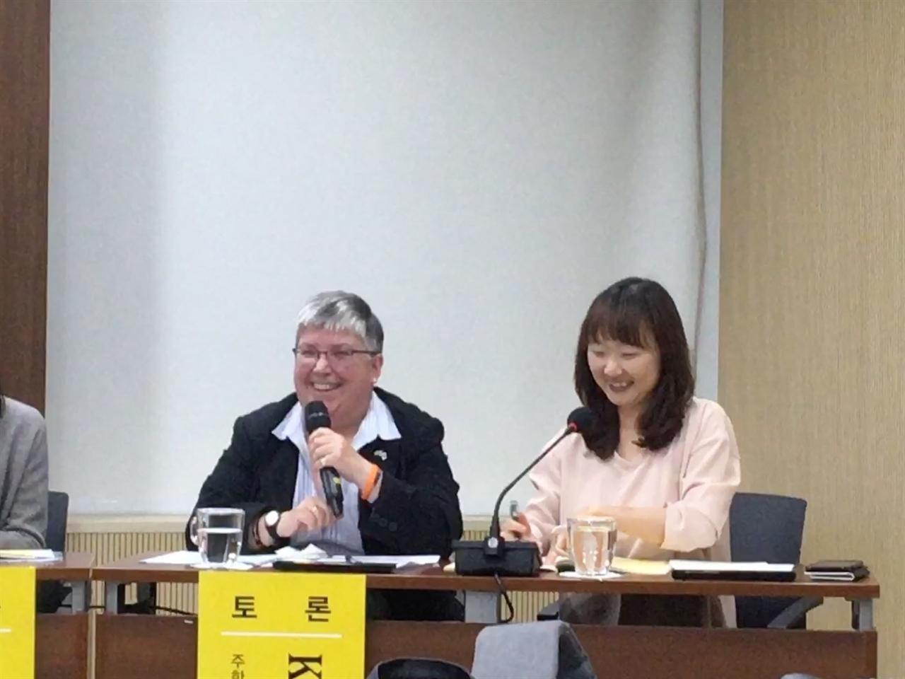 16일 시의회 의원회관 제2대회의실에서 '여성청소년 생리대 보편지급 정책을 위한 토론회'가 열렸다.