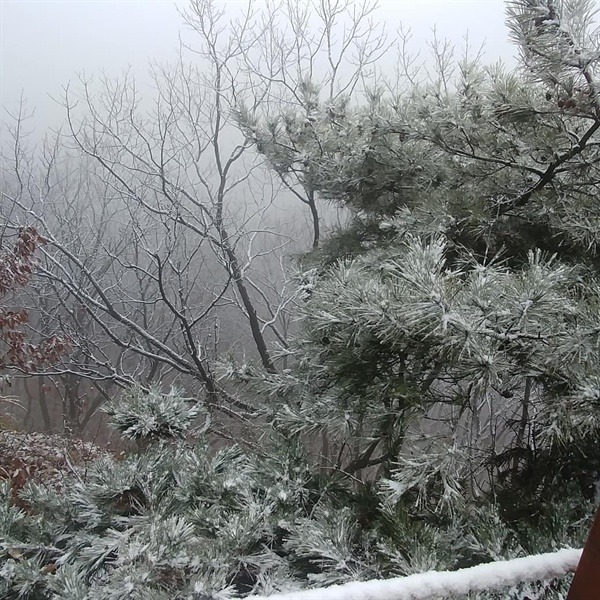 겨울산이 이렇게 아름다운 줄 몰랐다
