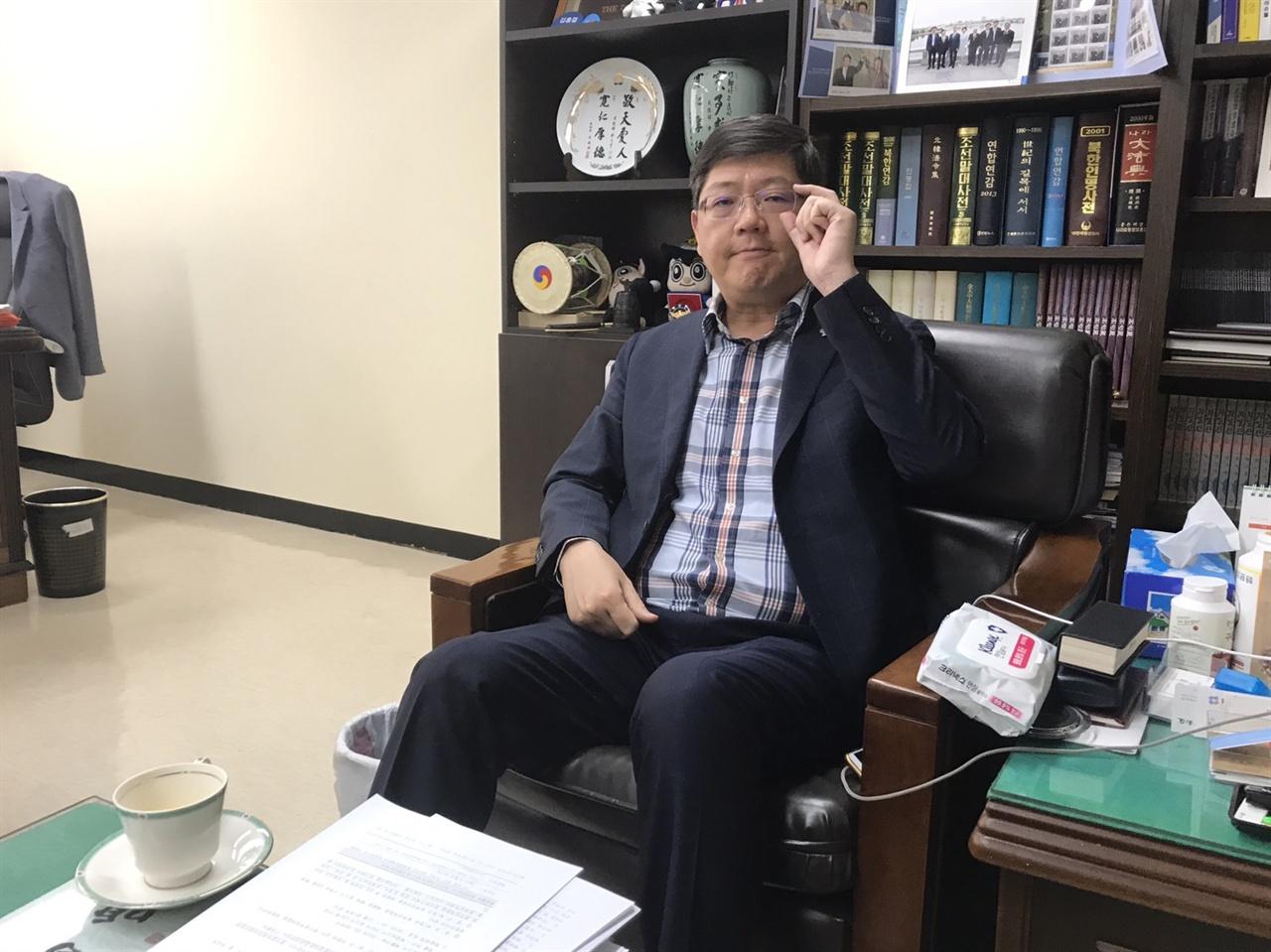 김홍걸 민화협 대표 상임의장
