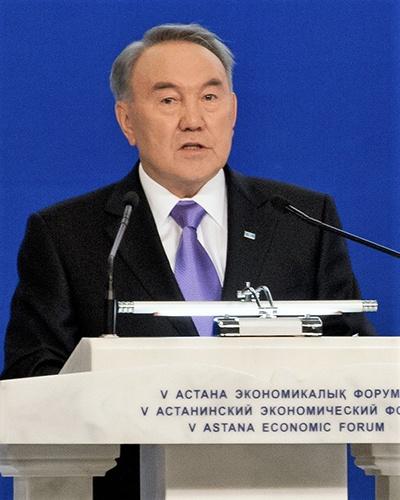 누르술탄 나자르바예프 전 카자흐스탄 대통령.