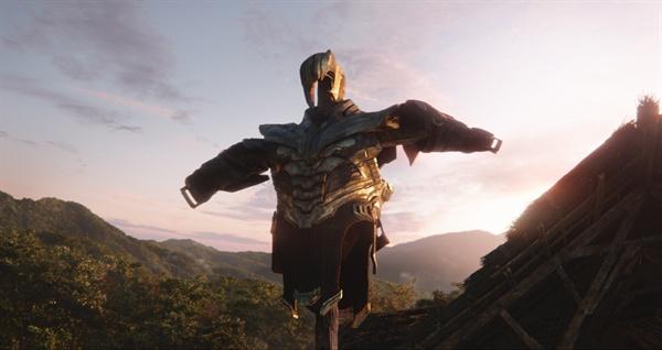 영화 < 어벤져스:엔드게임 >의 한 장면