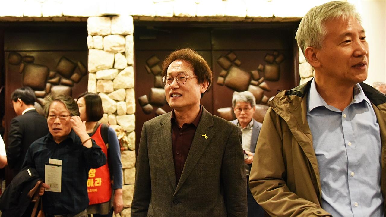 조희연 민선 6기와 7기 서울시교육감을 지낸 조희연 전 교육감도 행사에 참석했다.