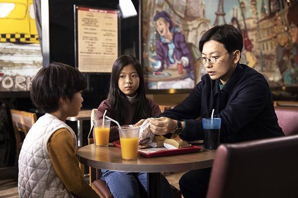영화 <어린 의뢰인>의 한 장면.