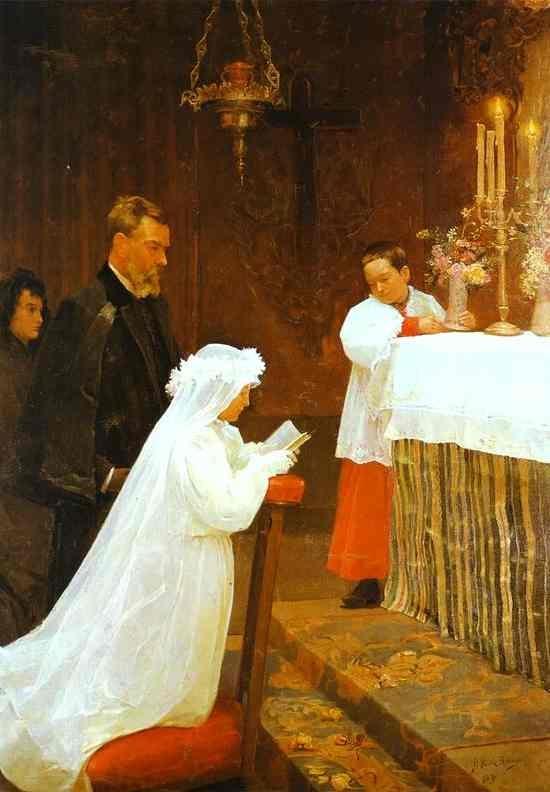 첫 영성체(1885~1856)