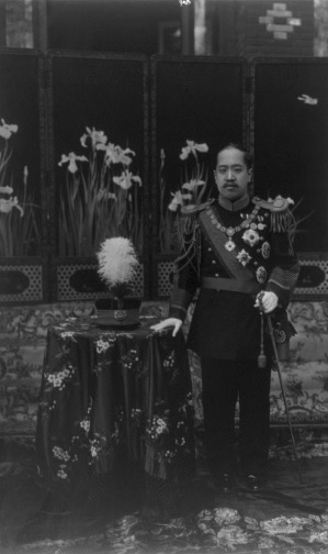 초대 이왕, 이척. 1910년대 사진으로 추정된다.