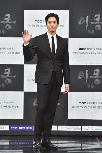 MBC 3·1 운동 및 대한민국 임시정부 수립 100주년 기념 드라마 <이몽> 제작발표회에 참석한 배우 유지태.