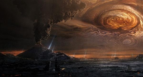 상상력과 비주얼은 합격, 스토리는 불합격. 영화 <유랑지구>의 한 장면.
