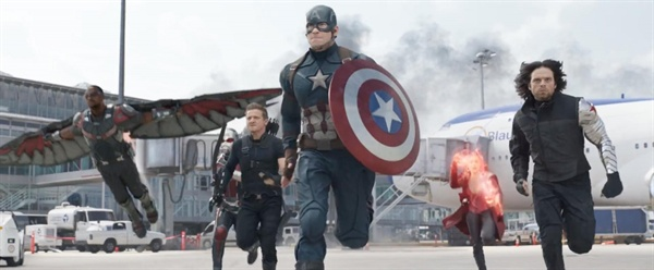 영화 <캡틴 아메리카 : 시빌 워> 스틸컷