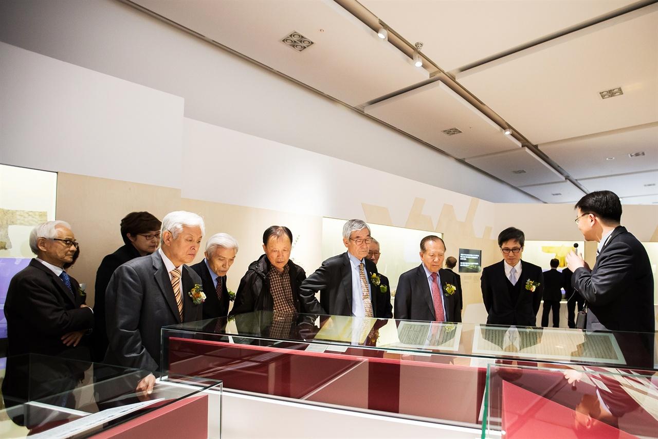 국립한글박물관 기획전 개막식_한글 편지 시대를 읽다에 참석한 김종규 이사장