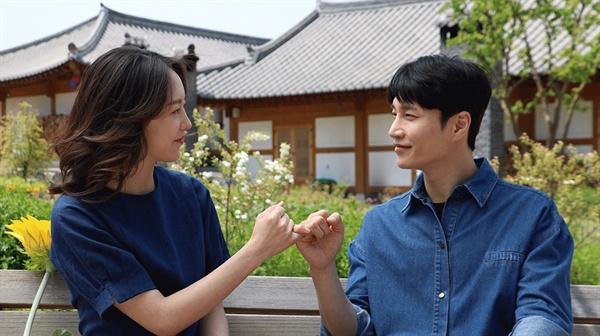 주연 배우인 김다현씨와 유다인씨